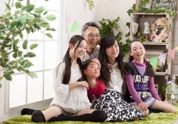 毎年撮影☆家族写真