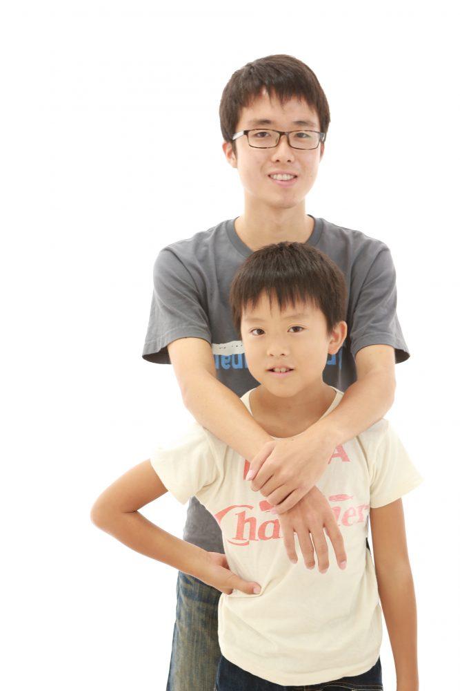 毎年恒例、家族写真!素敵~(^▽^)