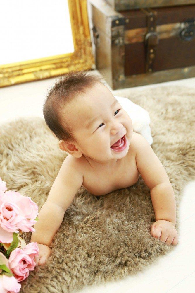 「赤ちゃんらしさ」を残すなら裸んぼもいいですよ♪ハーフBD