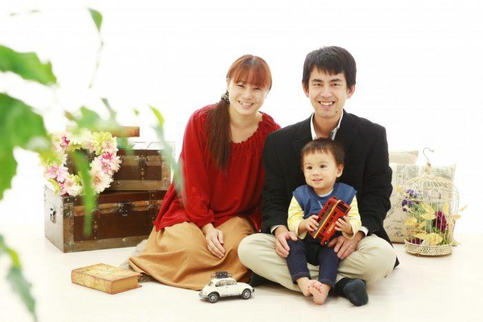 新年のご挨拶は笑顔満点の家族写真で♪記念撮影