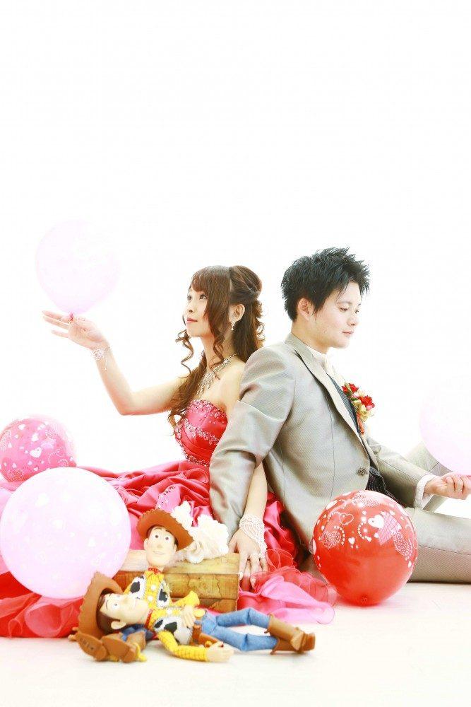 オリジナルなフォトウェディングもおまかせください☆写真だけの結婚式