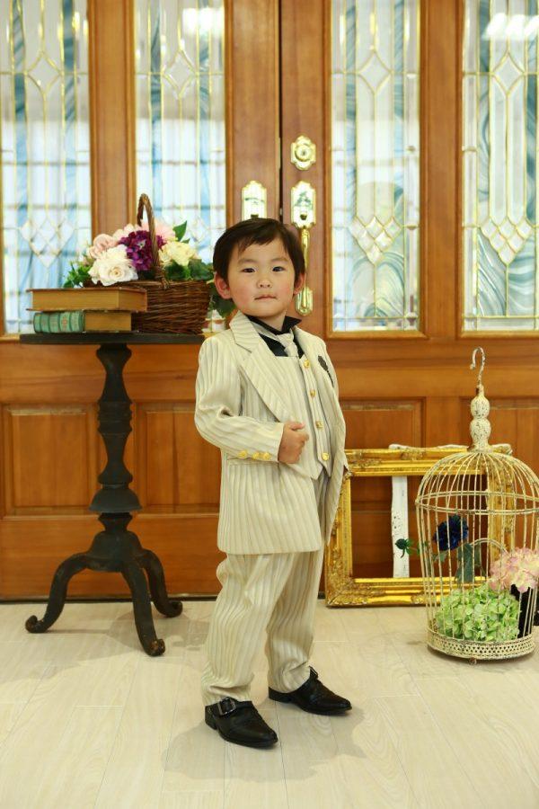 洋装で753撮影(*^^*) パパもママも一緒に♥