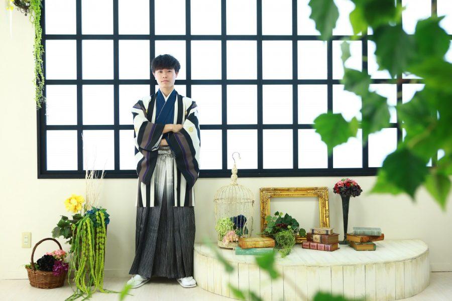 男性袴の撮影 レンタル やってます。 岐阜創寫館