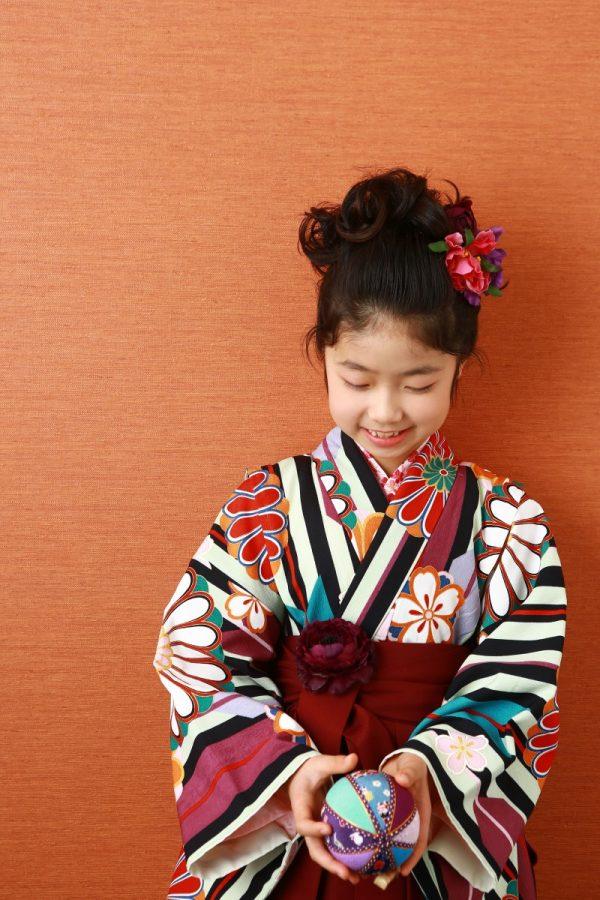 2分の1成人式 袴とドレスで記念写真♥