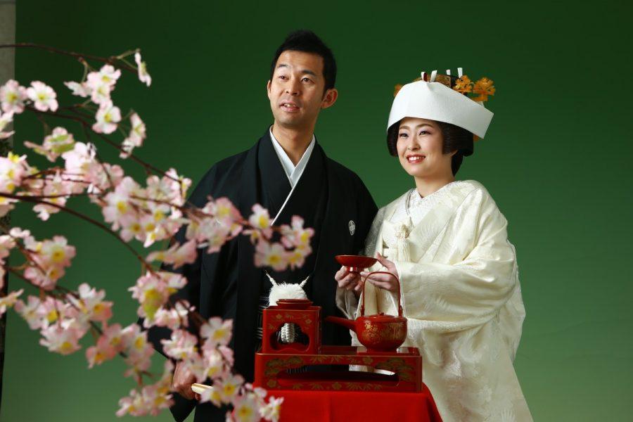 日本の伝統 花嫁白無垢