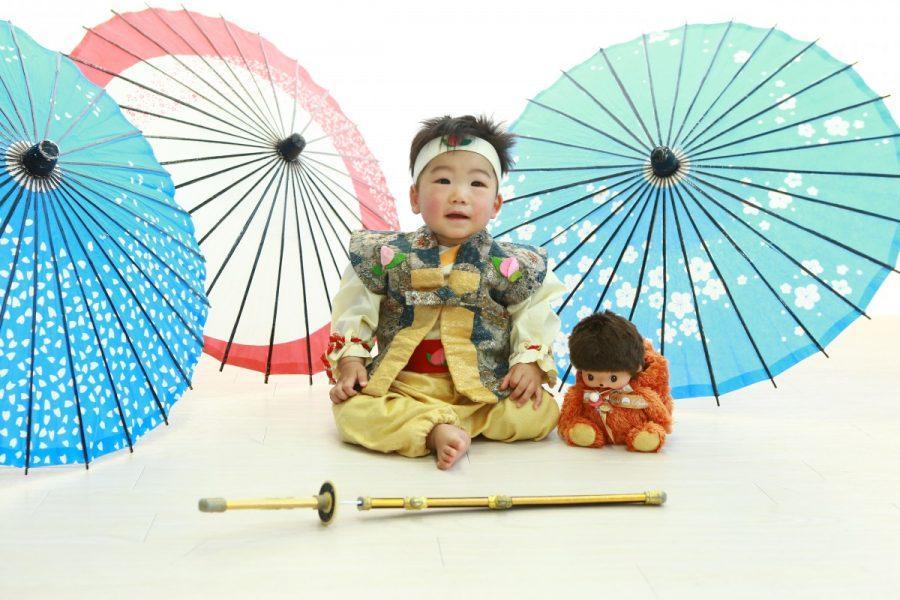 桃太郎 1歳バースデー撮影