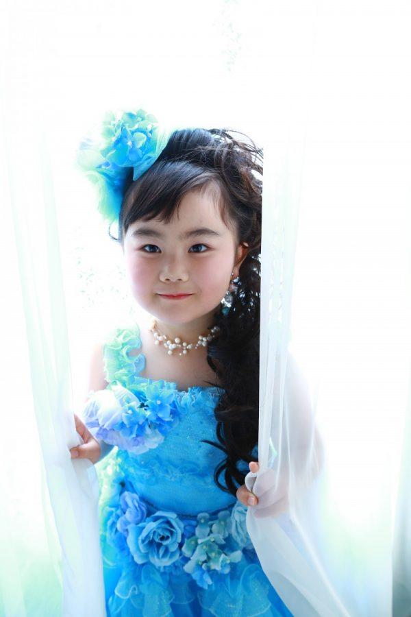 可愛い七五三 ドレスも素敵(*^-^*)