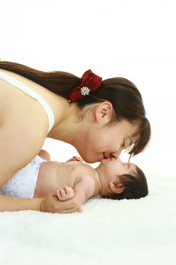 好評授乳フォト ママと赤ちゃん♥