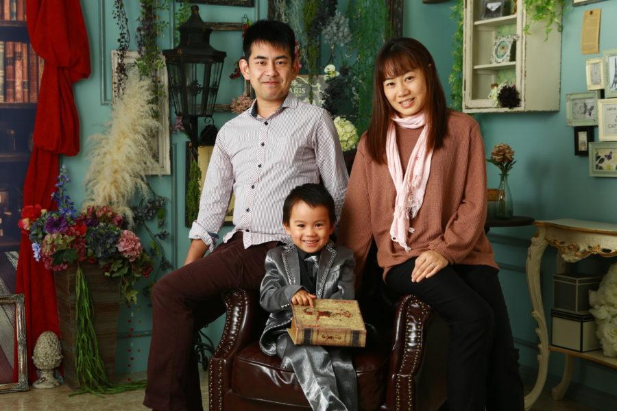 すくすく健やかに(*^_^*) 家族写真撮影