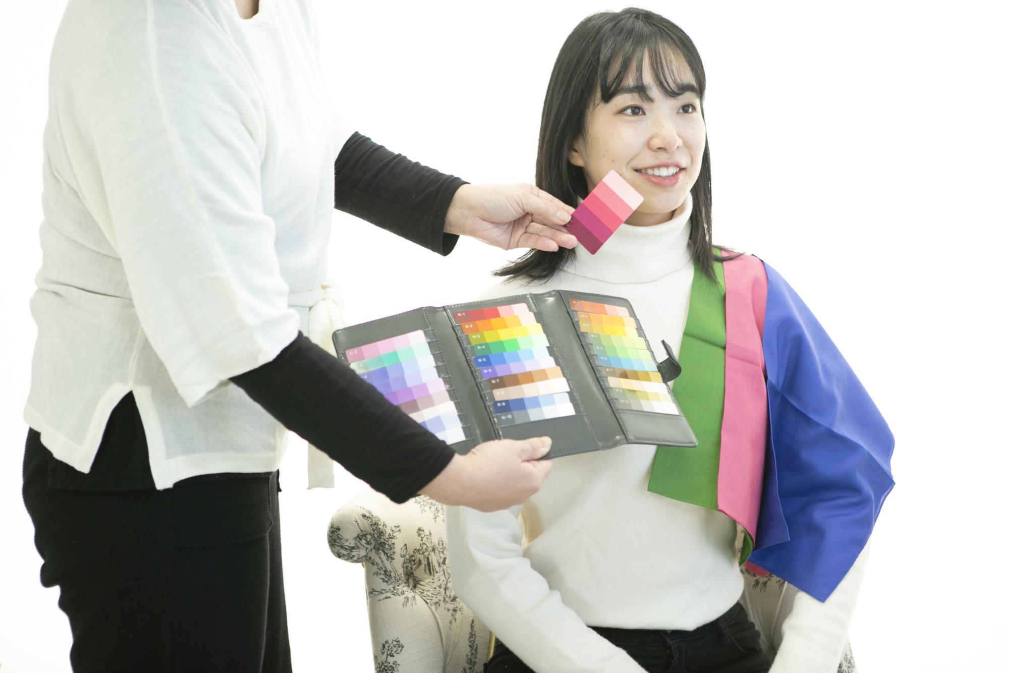 無料イベント★振袖カラー診断★2020.1.18&19