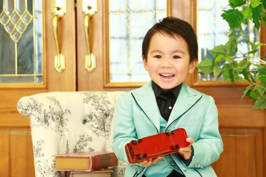 4歳のお誕生 おめでとうございます。