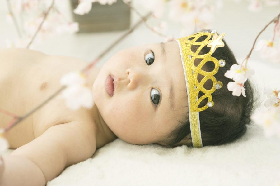 おめめがまんまる👀 カワイイ赤ちゃん♥