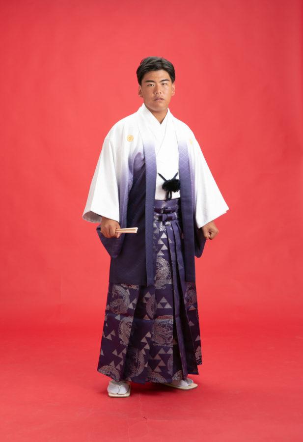 成人男性袴!! やはり若者袴姿はかっこいいですね~